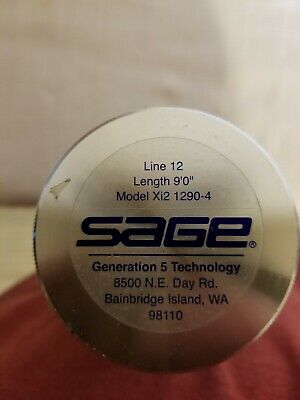 $400 • Buy Sage Xi-2 Fly Fishing Rod 9 Ft. 12# Swtb 12 I With Bonus Line!