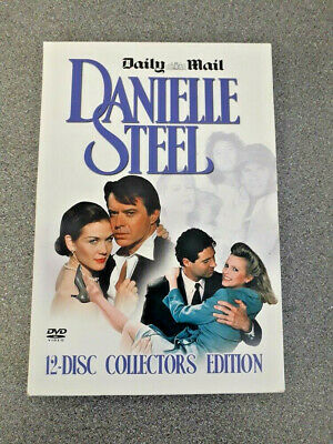 Danielle Steel Collectors Edition.(daily Mail). 12 Discs.dvd Uvg • 16.99£