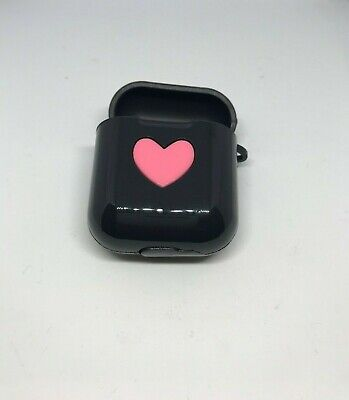 $ CDN5.26 • Buy Love-heart For Apple AirPods 1 2 Case Cover Silicone Earphone Charger