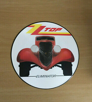 ZZ Top Eliminator Picture Disc LP Nr Mint Looks Unplayed • 18£