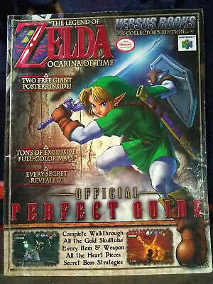 $24.99 • Buy  N64 Legend Of Zelda Ocarina Of Time Strategy Guide Versus Books, W/ Two Posters