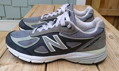 $67.95 • Buy New Balance M990v4 Limited Edition Running Sneakers Gray Blue 11 D Made In USA!
