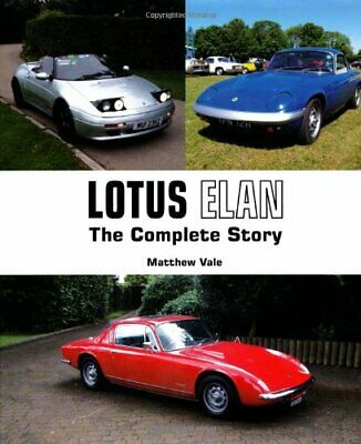 $ CDN47.97 • Buy Lotus Elan: The Complete Story (Crowood Autoclassics Series) By Vale New..