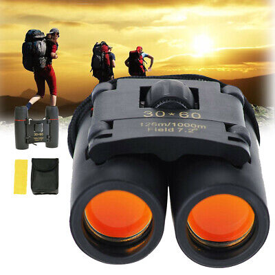 £11.99 • Buy Day & Night Vision Camping Telescope 30 X 60 Zoom Compact Binoculars With Pouch