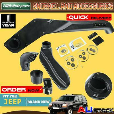 AU196.99 • Buy Snorkel Kit For Jeep Grand Cherokee ZJ ZG 4x4 Off Road Intake System 1993-1998