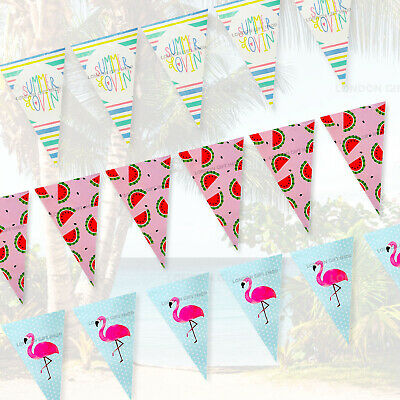 £2.89 • Buy 6M  15 Flags Multi Colour Banner Bunting Party Event Home Garden Decoration
