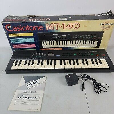 $100 • Buy Casiotone MT-140 Electronic Musical Keyboard 210 Sound Tone Piano. Working