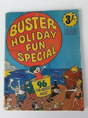 Vintage Buster Holiday Fun Special Comic From 1970 - Good Condition.  • 4.20£