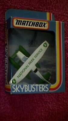 Matchbox - Sky Busters - SB26 Cessna Float Plane - White  National Park Service  • 4.95£