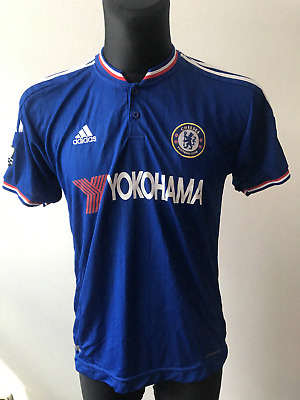 Official Chelsea London 2017/2018 Home Football Shirt Jersey Nike Size M Adidas • 44.45£