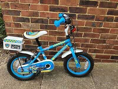 Police 14  Wheel Bike With Stabilisers -... • 20£