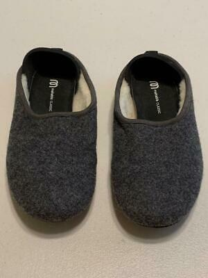 $19.99 • Buy MAHABIS CLASSIC Gray Bootie Slippers Size 38 EUR 7.5 US Womens