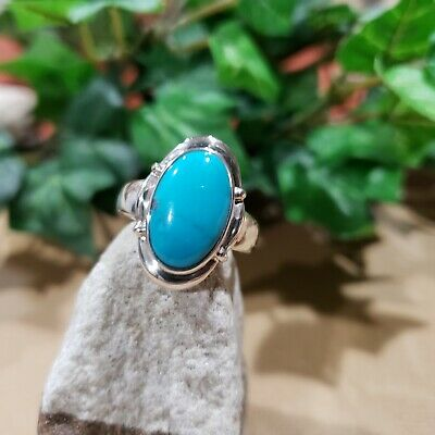 $ CDN60.49 • Buy Vintage WK Whitney Kelly 925 Sterling Silver Turquoise Ring Size 7