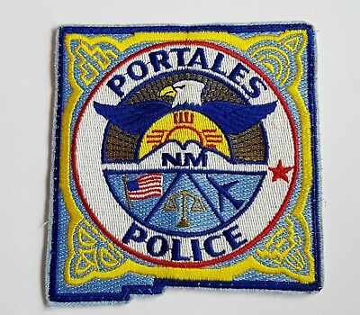 Obsolete Original Police Patch Badge USA New Mexico Portales • 5.99£