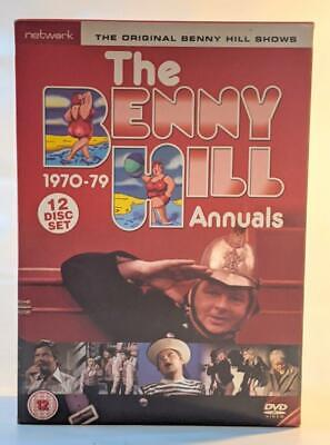 The Benny Hill Annuals 1970-1979 - Complete Box Set (DVD, 2008, 12-Disc Set) • 33.95£