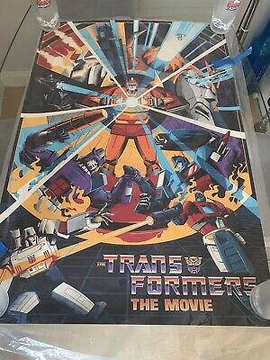 SDCC 2019 Transformers The Movie Mondo Poster Cesar Moreno And Variant /68 • 600£
