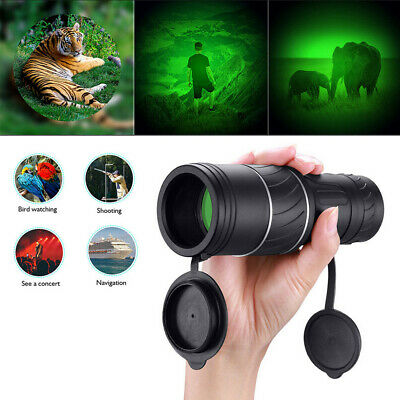 Super High Power 40X60 Portable HD Night Vision Monocular Telescope Binoculars • 8.98£
