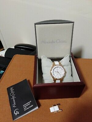 AU75 • Buy Alexandre Christie Ceramic Stainless Steel Watch