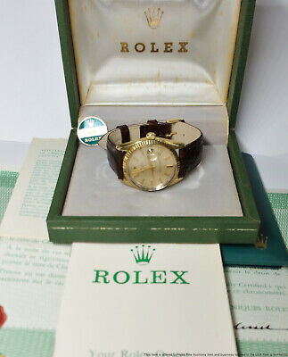 $ CDN2139.79 • Buy Full Set Rolex Mens 1550 Vintage Oyster Perpetual Date Box Papers