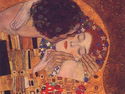 $ CDN18 • Buy The Kiss Gustav Klimt Fine Art CANVAS Print Wall Poster Print Decor Small 8x10