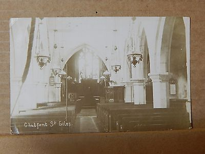 Postcard Chalfont St Giles Church Real Photo Posted 1912 . XC3. • 4.28£