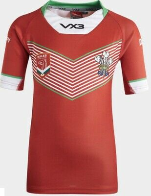 WALES RUGBY LEAGUE SHIRT New (Large) Rrp £60 • 1.20£
