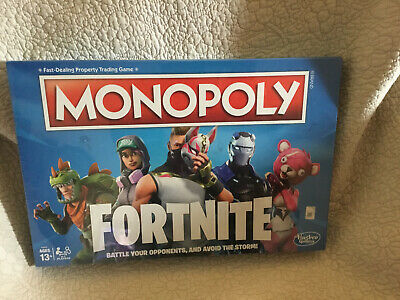 $12.99 • Buy New Monopoly Fortnite Edition Hasbro Board Game Sealed