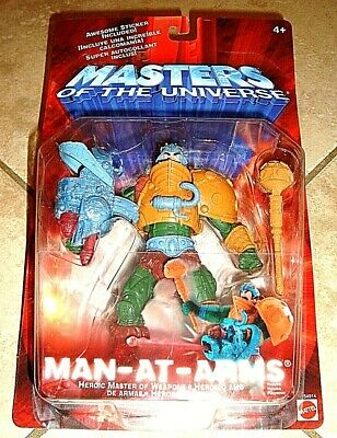 $24.99 • Buy Masters Of The Universe Man-at-arms Action Figure #54914 (nib) By Mattel