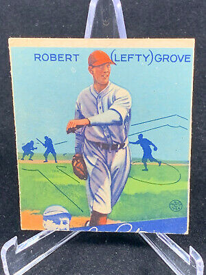 $67.50 • Buy 1934 Goudey Lefty Grove #19 Boston Red Sox HOF