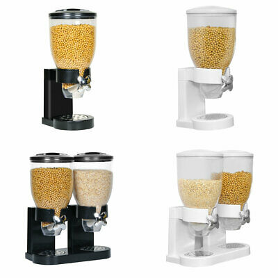 £18.99 • Buy Dry Food Cereal ContainerCereal Dispenser Machine Storage High-Capacity UK