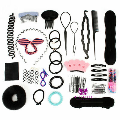 £8.99 • Buy Salon Hairdressing Accessories Clips Hair Band Twist Kit Braiding Tools Sets UK