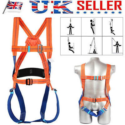 £22.89 • Buy 3 Point Fall Arrest Safety Harness Scaffold Construction Work Protection Harness