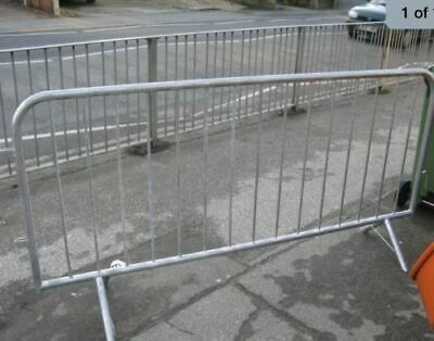 Crowd Control Barriers Used • 10£