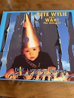 Pete Wylie + Wah! Don't Lose Your Dreams Cd Single 3 Track Digi Pack Uk • 1.60£