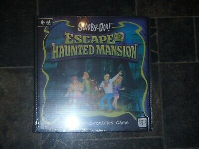 Scooby-Doo - Escape From The Haunted Mansion Board Game ** NEW + SEALED ** • 59.99£