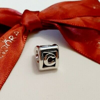 AU39 • Buy Genuine Pandora Sterling Silver  Letter C  790323C - Retired