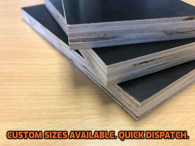 Film Faced Plywood Sheets -18mm Thick - Various Sizes Available - Free Shipping • 30£
