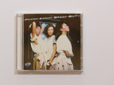 Pointer Sisters - Break Out (CD) • 8£