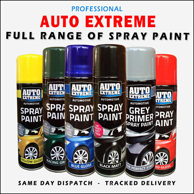 200-250ml Auto Extreme Aerosol Spray Paint Satin Gloss Matt Primer Grafitti Tint • 5.45£