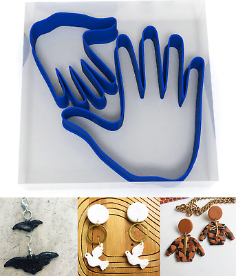 SMALL 3/5CM Hand Polymer Clay Cutter Jewellery Making Kit Craft Set Body People • 3.99£
