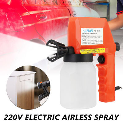 £21.89 • Buy Electric Paint Spray Gun Airless Painting Car House Furniture Ceiling Sprayer