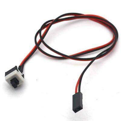 £3.15 • Buy 2Pin PC ATX Computer Chassis Power Button Motherboard Jumper Switch Cable ESC