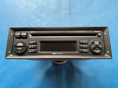 MG/Rover CD Player 413X AM/FM Radio WITH CODE (Part Number: XQE000930PMA) • 60£