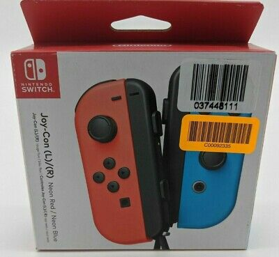 $69.99 • Buy New Nintendo Switch Joy-Con Pair, Neon Red And Neon Blue -DT0421