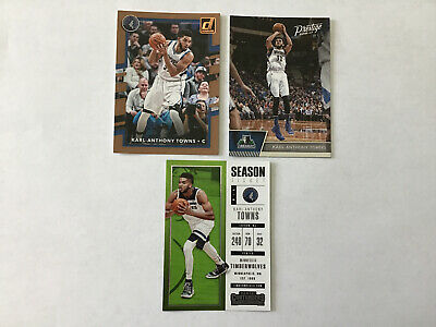 $ CDN2.67 • Buy Karl-Anthony Towns Basketball Cards Lots