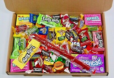 American Sweets Gift Box - USA Candy Hamper - Nerds - Airheads - Reeses • 7.99£