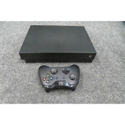 $132.50 • Buy Microsoft 1787 XBox One X Video Game Console 1TB Black USED