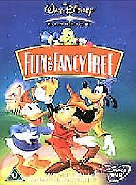 DISNEY Fun And Fancy Free (DVD, 2002) Bongo & Mickey And The Beanstalk • 3.49£