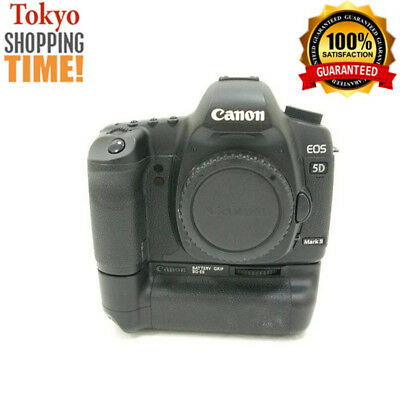 $ CDN946.93 • Buy Canon EOS 5D Mark II DSLR Body + BG-E6 Battery Grip From Japan