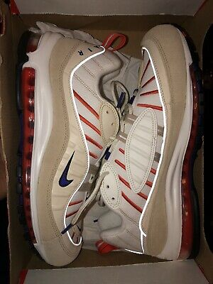 $89 • Buy Nike Air Max 98 SE Inside Out Desert Sand Gold Beige Red AO9380-003 Mens Size 11